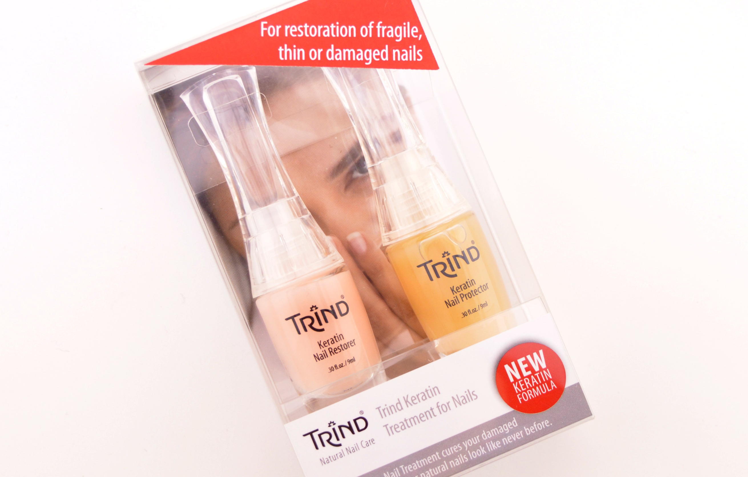 Trind Keratin Treatment for Nails Kit (2) | The Pink Millennial