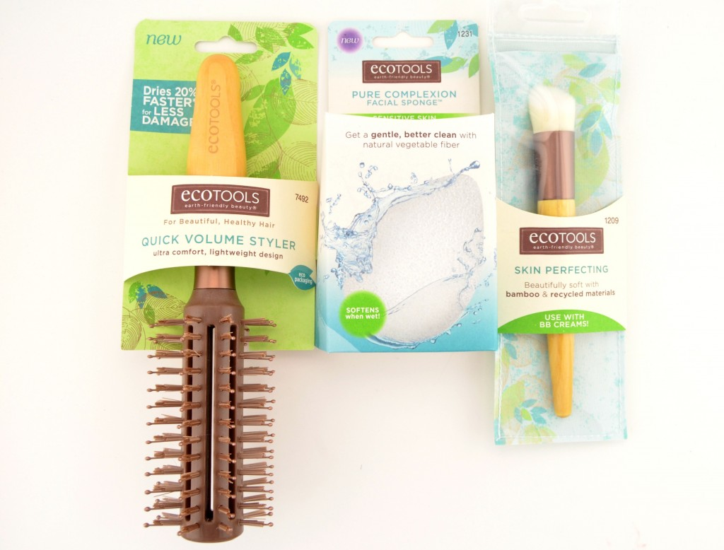 EcoTools Skin Perfecting Brush, Pure Complexion Facial Sponge and Quick Volume Styler