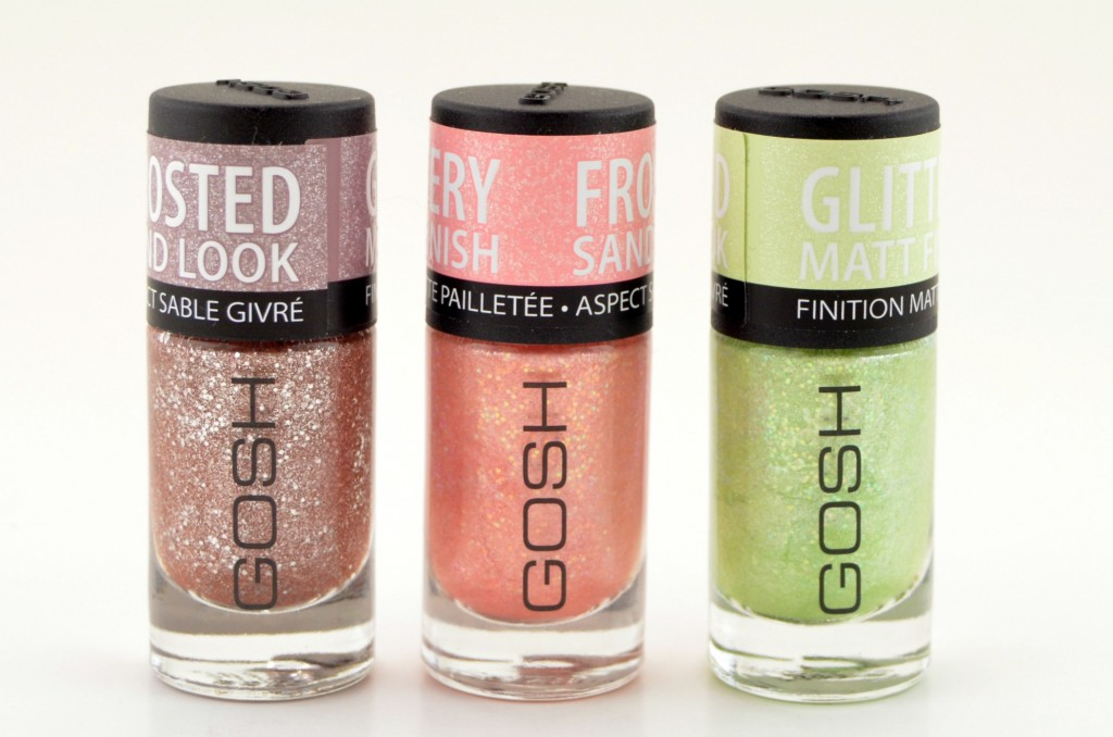 GOSH Frosted Nail Lacquer  (1)