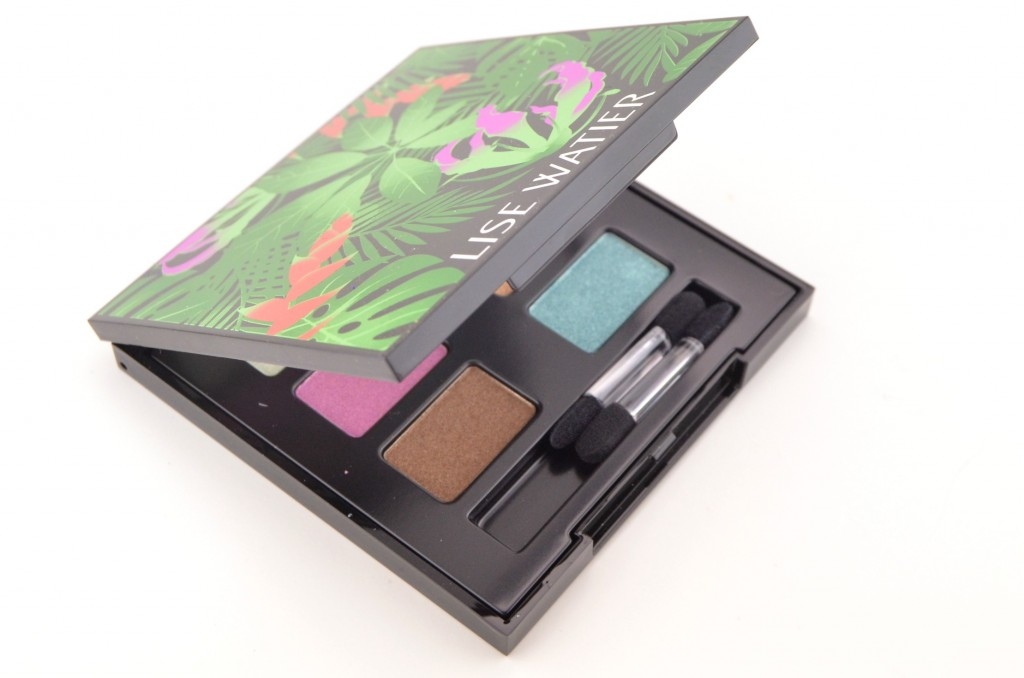 Lise Watier Eden Tropical Eyeshadow Palette  (2)