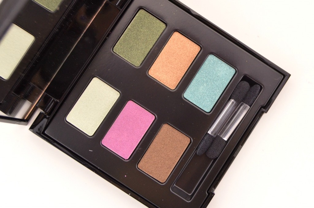 Lise Watier Eden Tropical Eyeshadow Palette  (3)