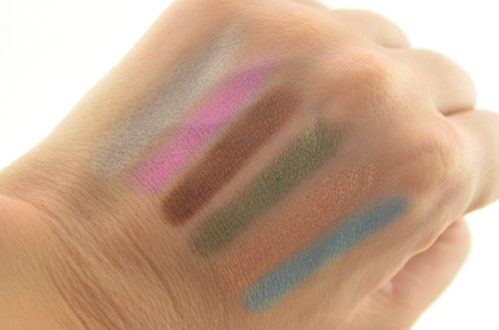 Lise Watier Eden Tropical Eyeshadow Palette  (4)