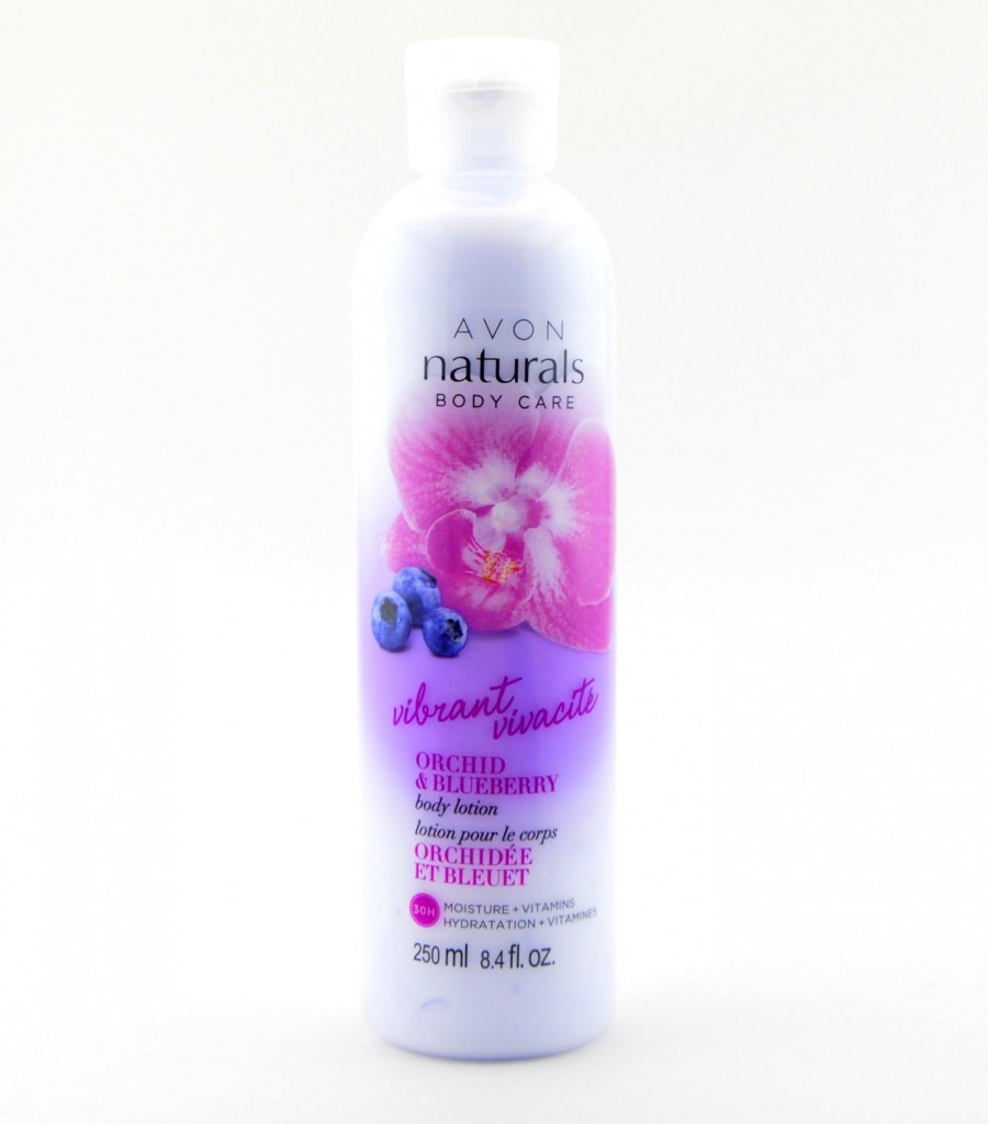 Avon Naturals Body Care Vibrant Orchid & Blueberry  (2)