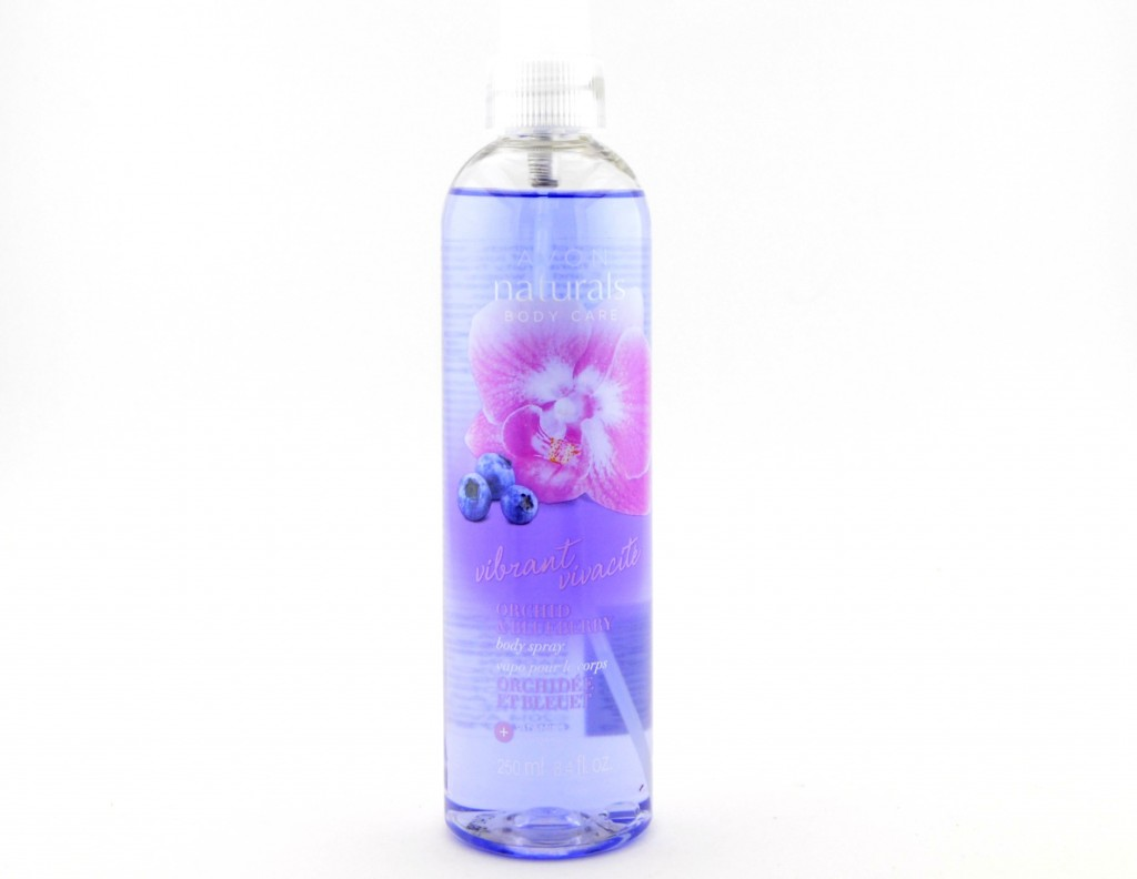 Avon Naturals Body Care Vibrant Orchid & Blueberry  (3)