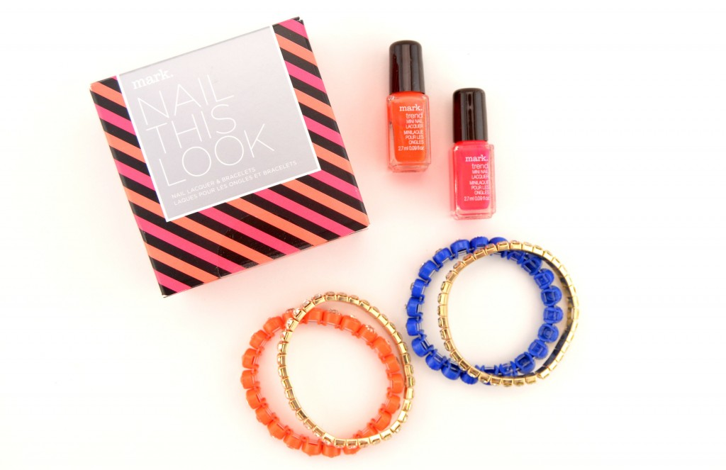 Mark. Nail This Look Nail Lacquer and Bracelets Set  (2)