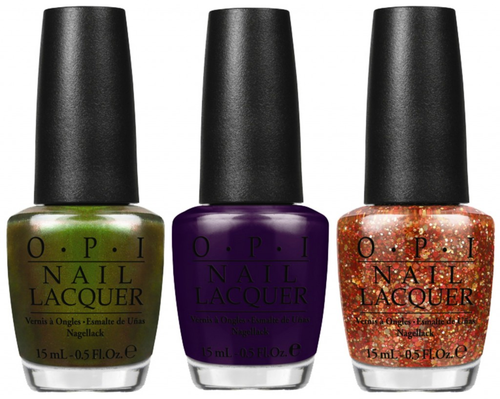 OPI Green on the Runway, A Grape Affair and Orange You Fantastic!, Coca-Cola, Coke, Sprite, Grape Soda