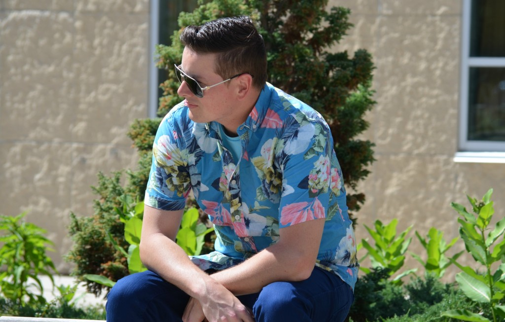 Florals for men, Bold Prints, Call It Spring, Male Fashion Blogger, Mens Fashion, Male Model