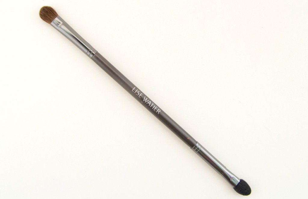 Lise Watier Double Applicator Eyeshadow Brush, Lise Watier, easy application, eyeshadow