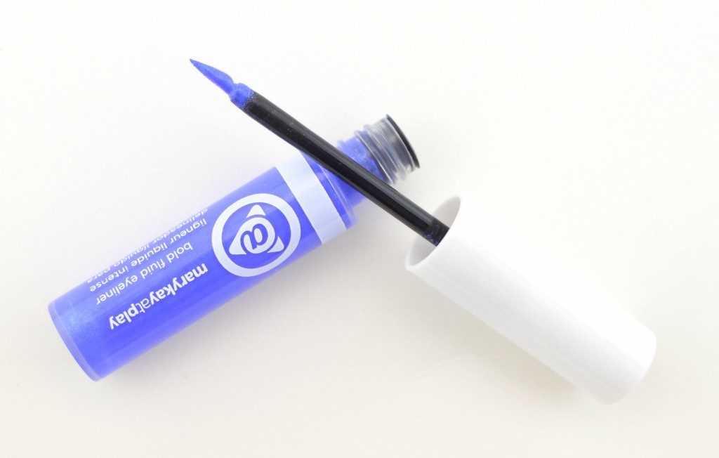 Mary Kay At Play Bold Fluid Eyeliner in Blue My Mind, eyeliner, liner, blue