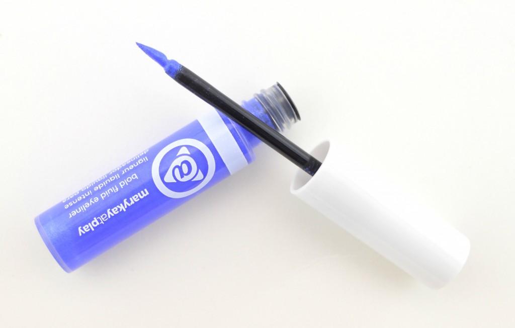Mary Kay At Play Bold Fluid Eyeliner in Blue My Mind, eyeliner, liner, blue