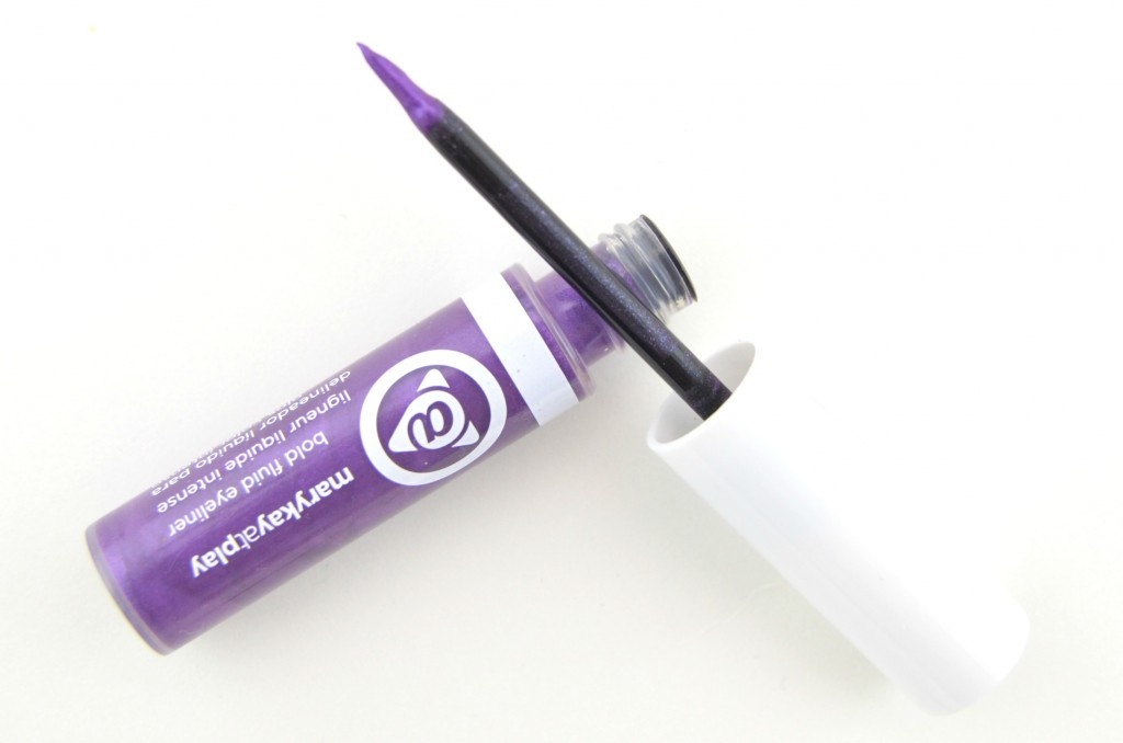 Mary Kay At Play Bold Fluid Eyeliner in Hello Violet, Purple eyeliner, At Play, Mary Kay