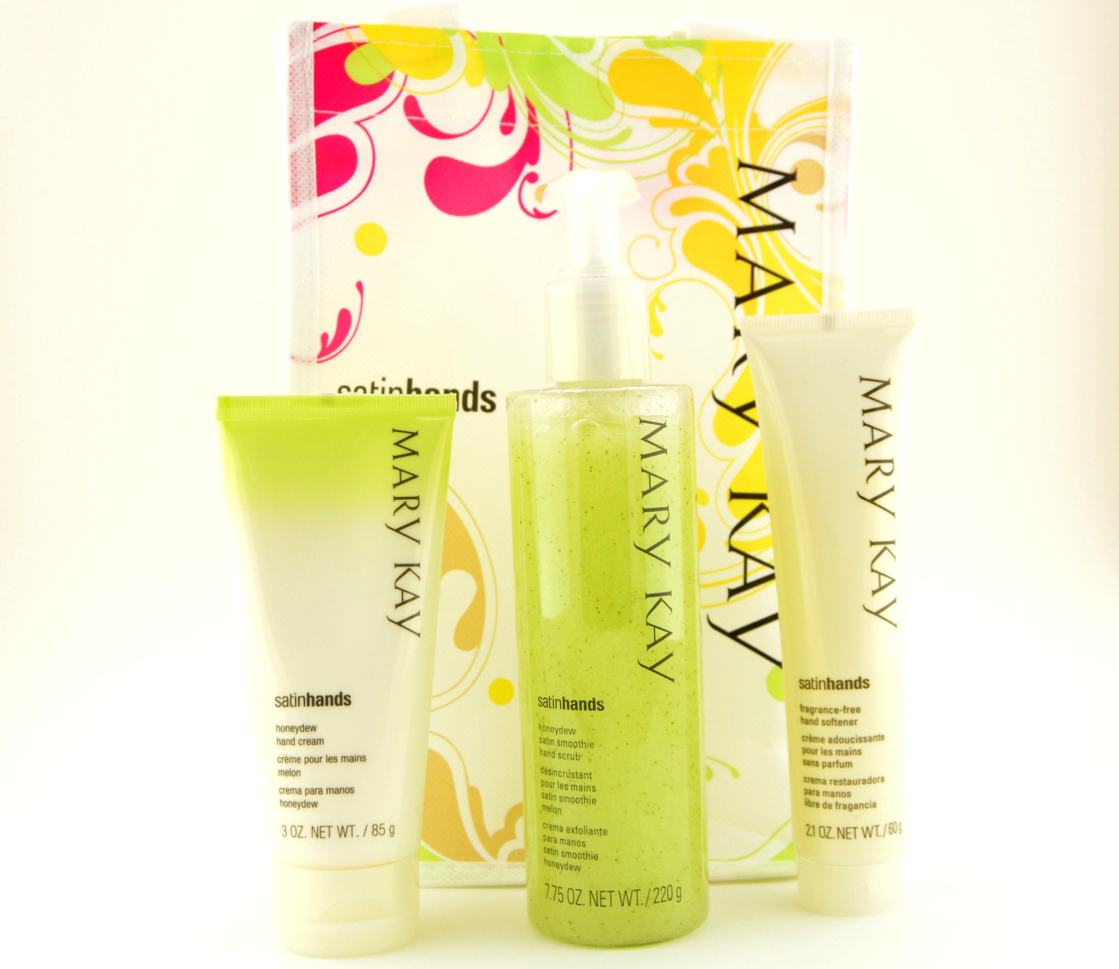 Mary Kay Honeydew Satin Hand Pampering Set Review