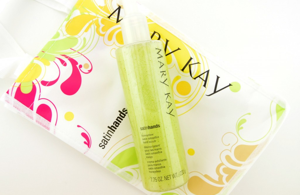 Mary Kay Honeydew Satin Hand Pampering Set, Honeydew Satin Hands Satin Smoothie Hand Scrub , honeydew, scrub, micro exfoliators