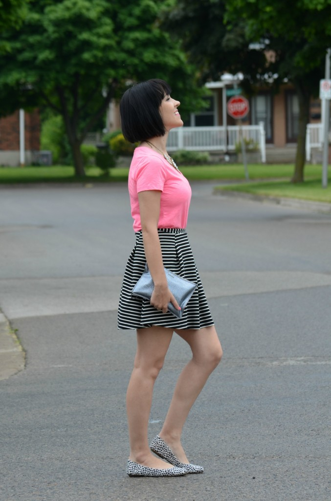 Mixing Prints, Smart Set, RW & Co, H&M, Old Navy, The Pink Millennial