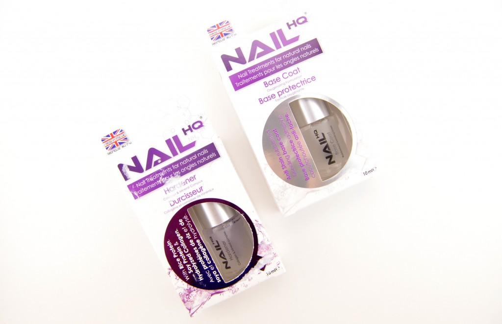 Nail HQ Hardener And Base Coat
