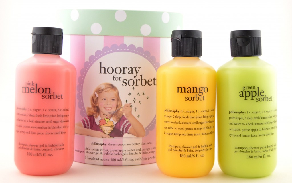 Philosophy Hooray for Sorbet Collection  (2)