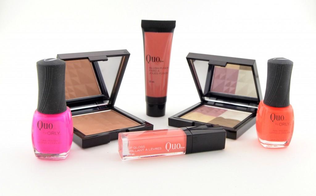 Quo Cosmetics, Summer 2014 Collection, Quo, Lip Gloss, Eyeshadow, Bronzer, Nail Polish, Blush, Brushes