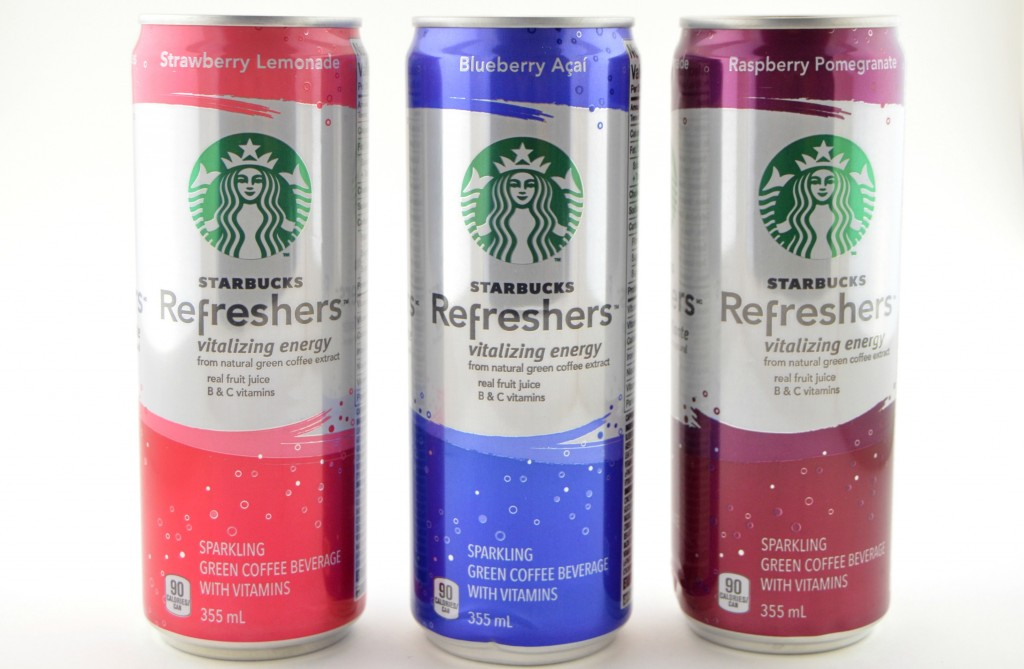 Ready-to-Drink, Starbucks Refreshers, Starbucks, Cold Drinks, only 90 calories, green tea