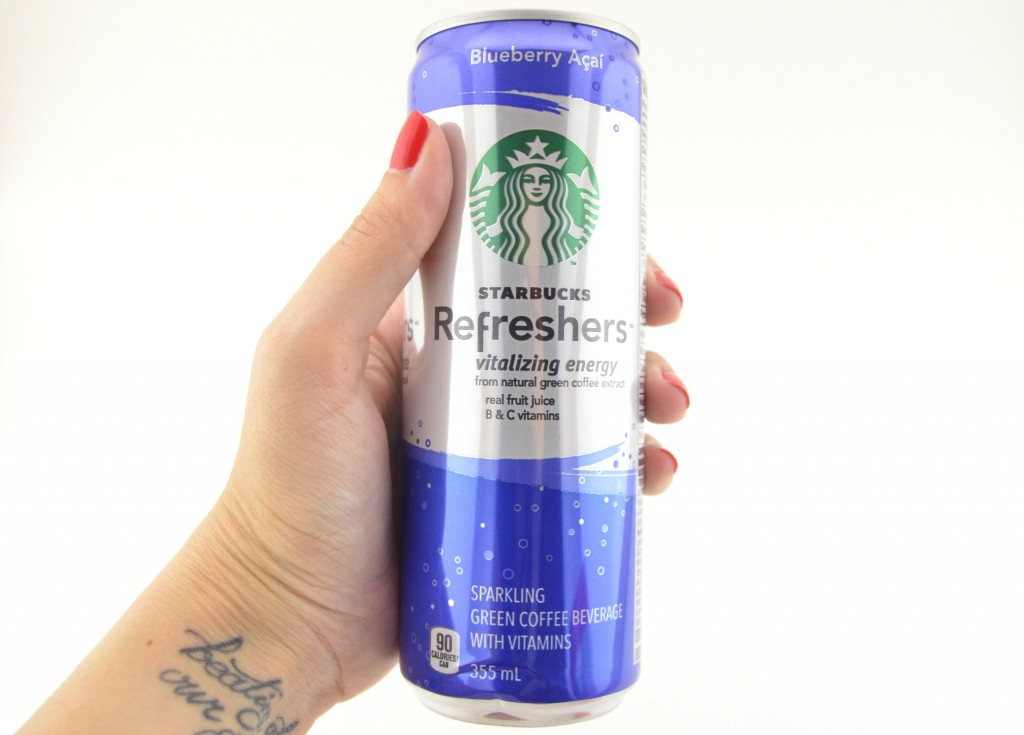 Ready-to-Drink Starbucks Refreshers in Blueberry Açaí