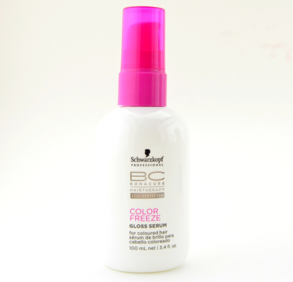 Schwarzkopf Professional BC Color Freeze Gloss Serum