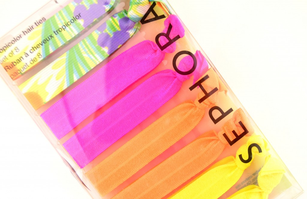 Sephora Collection Tropicolor Ribbon Hair Ties (2)