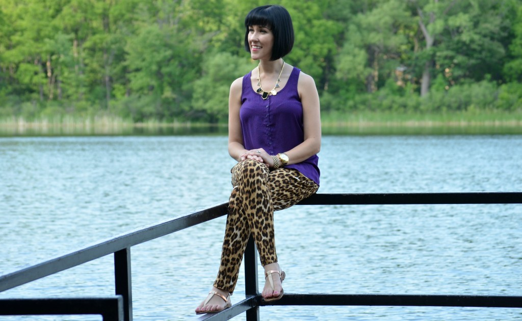 Lake View, Target Sandals, Target, Strappy Sandals, bold necklace, black necklace, short hair