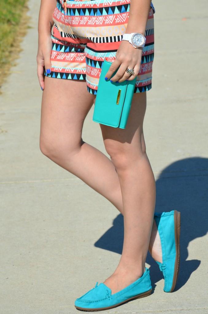 Aztec Print Shorts (8)
