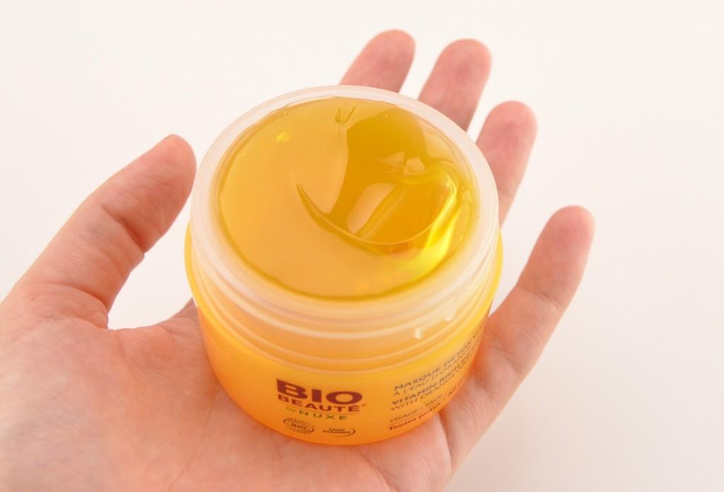 BIO Beaute, NUXE, Vitamin Rich, Detox Mask, mask, gel mask, skincare, light face mask