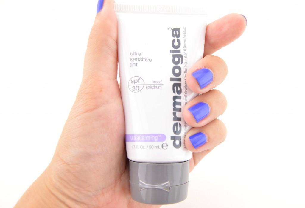 Light tint, BB Cream, Foundation, Primer, blue nail polish