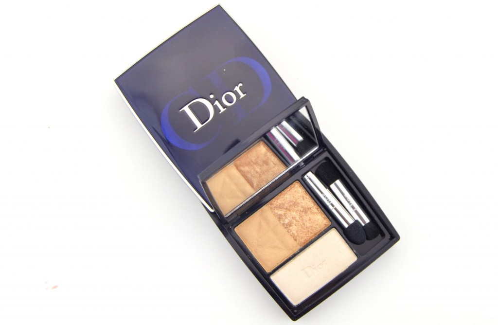 Dior 3-Couleurs Smoky Eyeshadow in Smoky Gold (1)