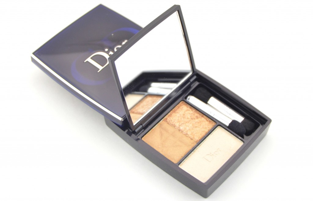 Dior 3-Couleurs Smoky Eyeshadow in Smoky Gold (2)