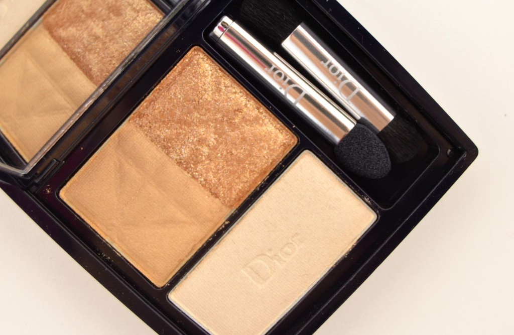 Dior 3-Couleurs Smoky Eyeshadow in Smoky Gold (3)