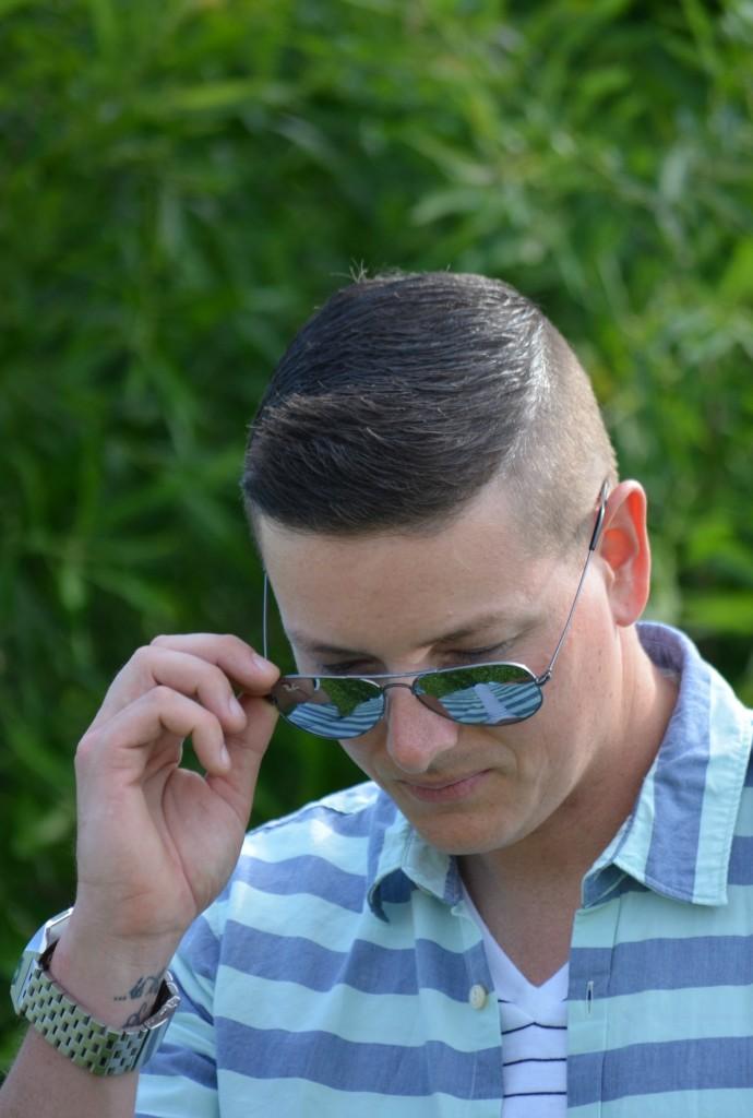 Bad Hair Day, Bad Haircut, mens hair style, sunglasses, D&G
