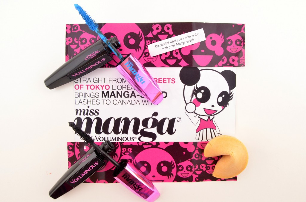 Kawaii, Miss Manga, L'Oreal Mascara, doll-like eyes, doll-like lashes, flirty, wide-eyed, dramatic lashes, mascara, L'oreal