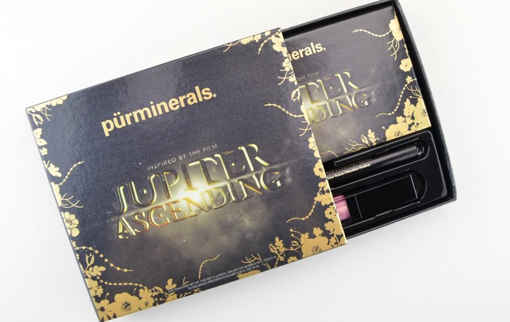 Pür Minerals, Jupiter Ascending, Collection, eyeshadow, eye shadow, lipgloss, lip gloss, pink, black eyeliner