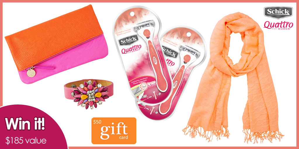 Schick Quattro Your #Selfie Your Style Giveaway