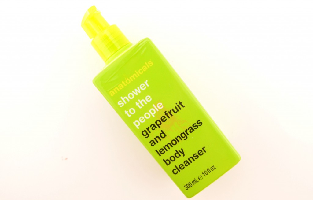 anatomicals shower to the people grapefruit and lemongrass body cleanser
