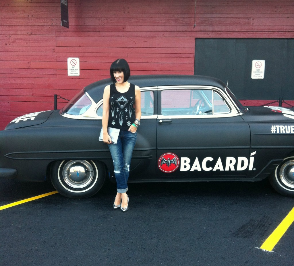 Bacardi, Festival Libre, Cocktails, Black Matte Car, Blogger, Cowboys Ranch