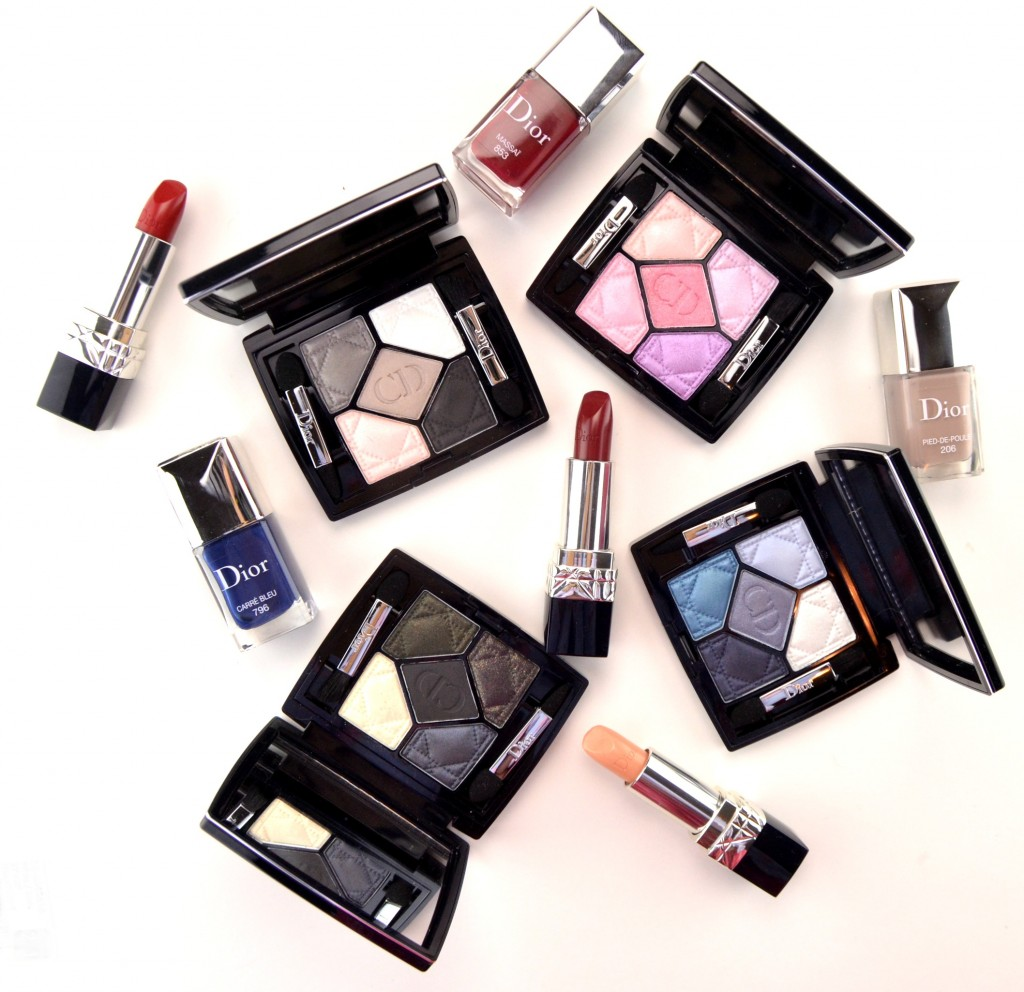 Dior Fall 2014 5 Couleurs Collection Review