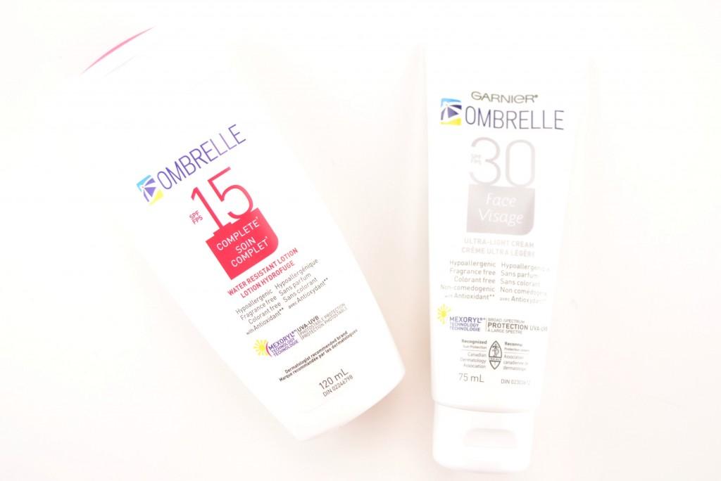 Garnier, Ombrelle, sun screen, sunblock, sun protection, SPF, SPF15, face, skincare, sun, UVA, UVB, suns rays