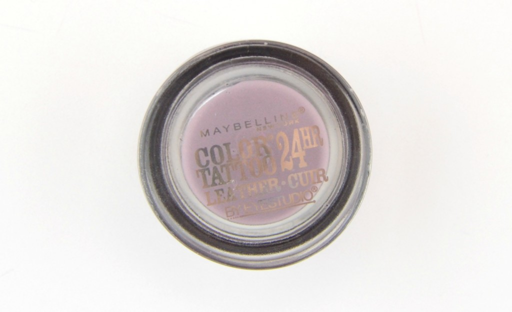 Maybelline EyeStudio Color Tattoo 24hr Eyeshadow Leather  (1)