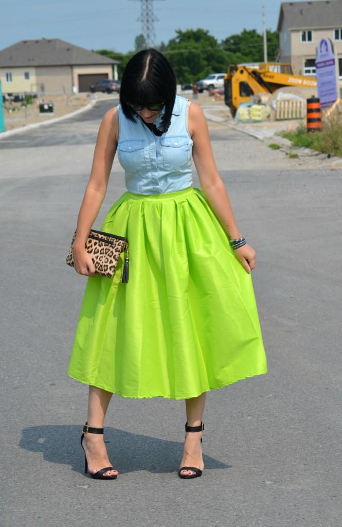 Neon Skirt (2)
