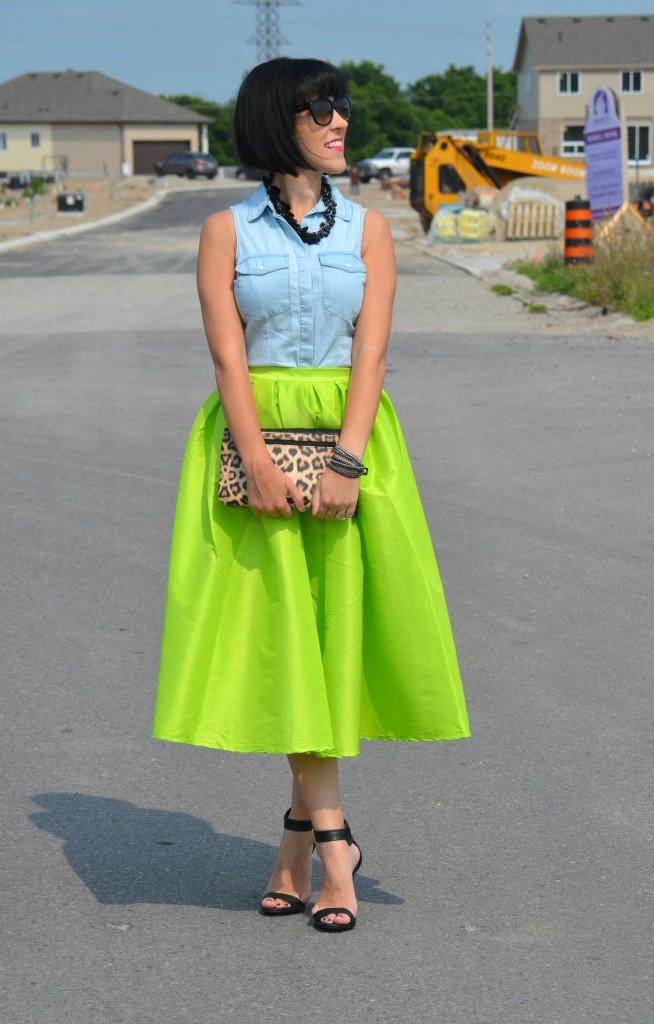 Neon Skirt (3)