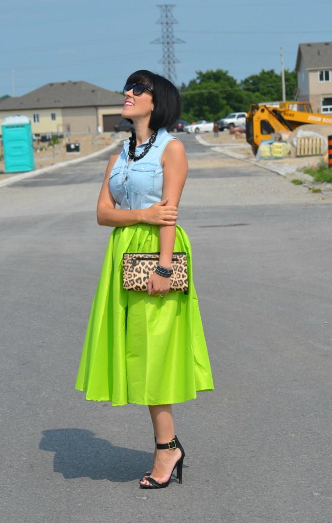 Neon Skirt (4)