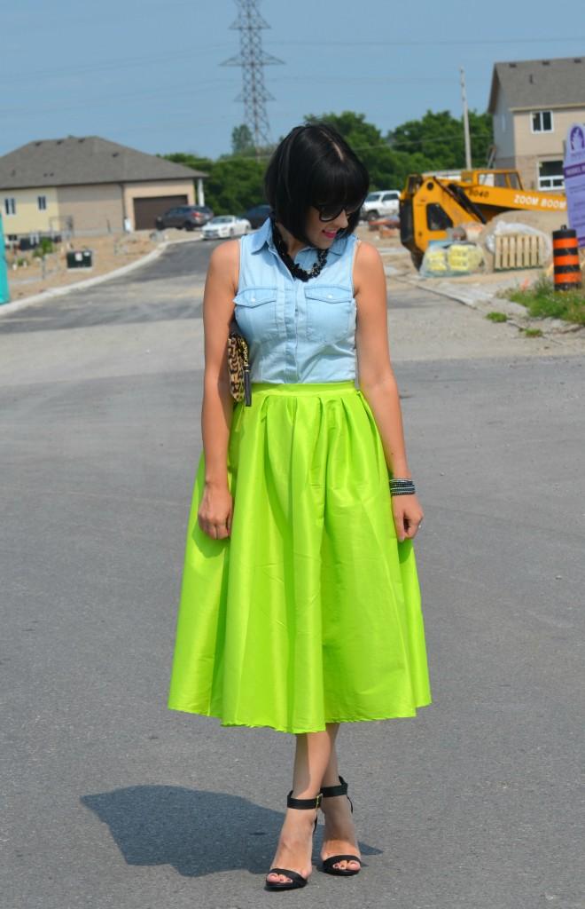 Neon Skirt (5)