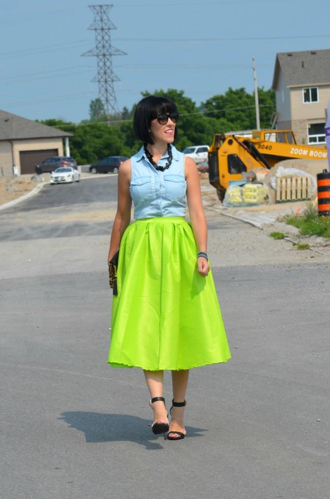 Neon Skirt (6)