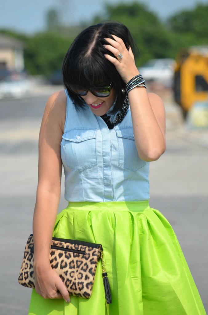 Neon Skirt (7)