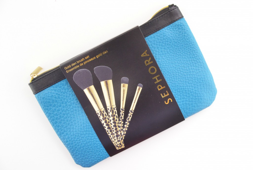 Sephora Collection, Gold Den, Brush Set, Brushes