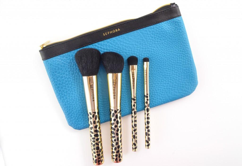 Sephora Collection Gold Den Brush Set  (2)