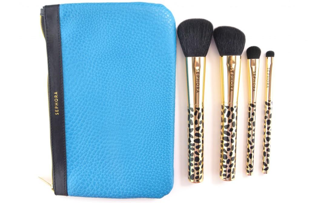 Sephora Collection Gold Den Brush Set  (3)